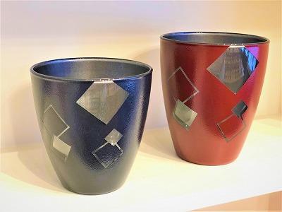 漆塗り グラス フリーグラス ギフト マイグラス ペアグラス
